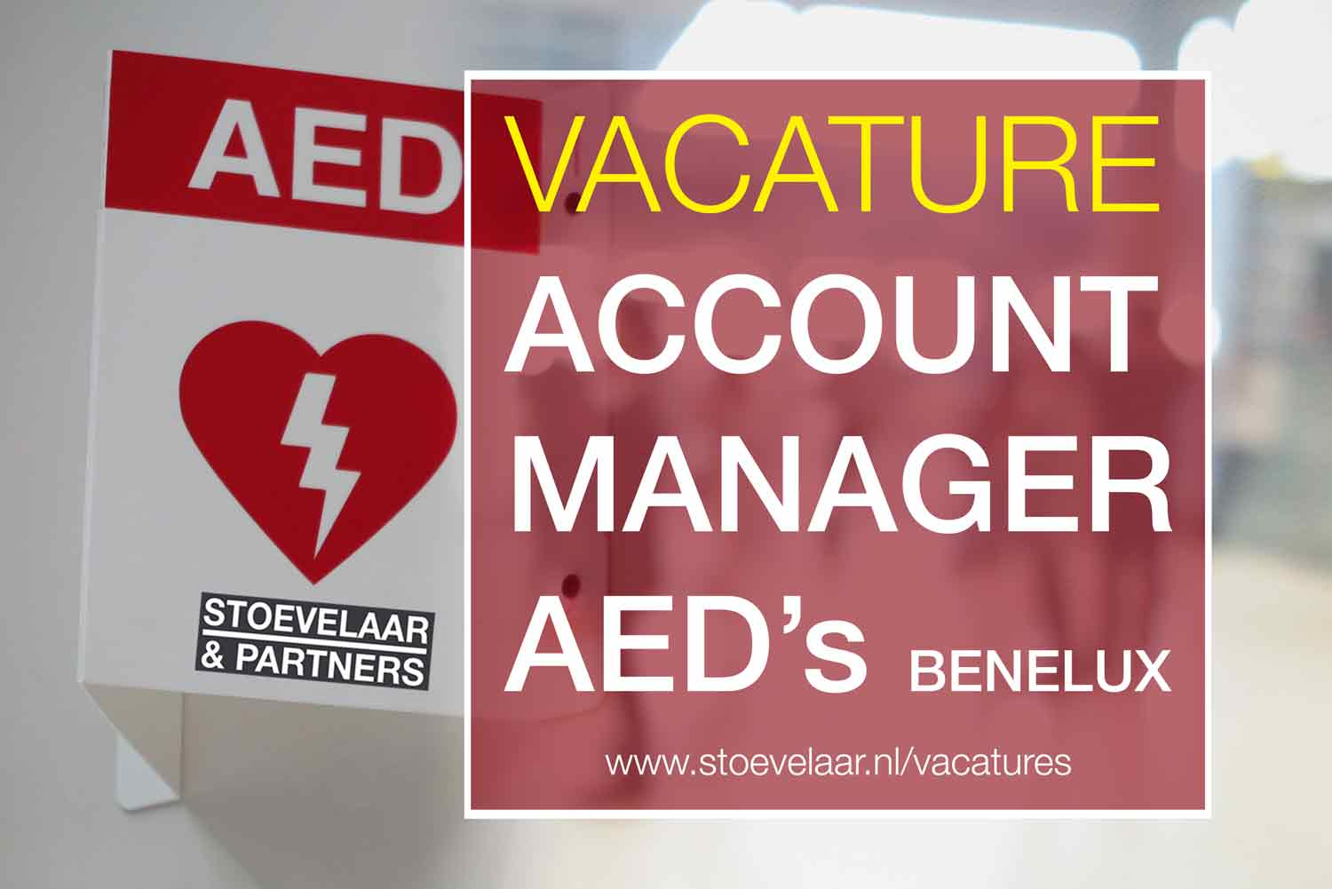 vacature Account Manager AED Benelux