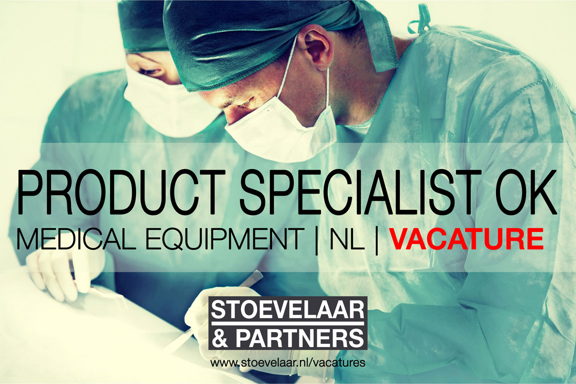 Product Specialist OK Medical Equipment vacature