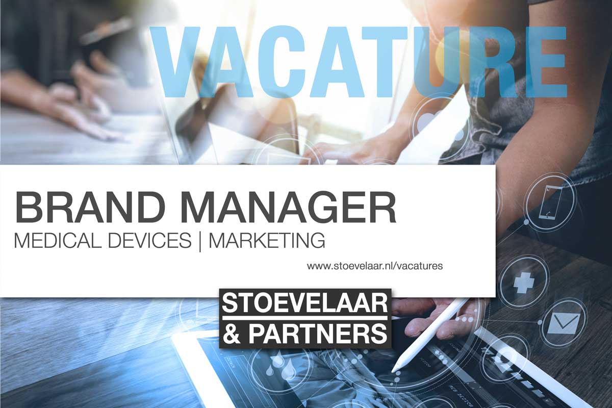 Brand Manager Medical Devices - Marketing