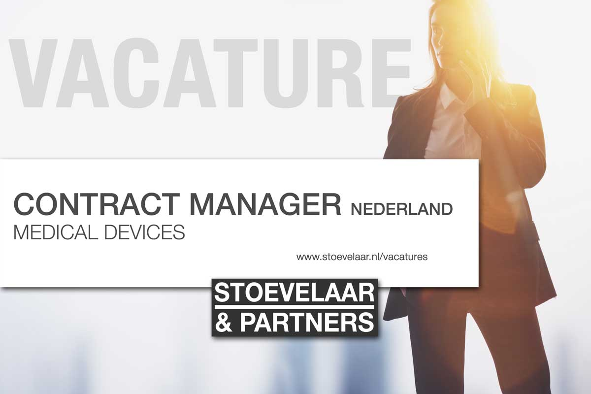 Contract Manager Medical Devices Nederland