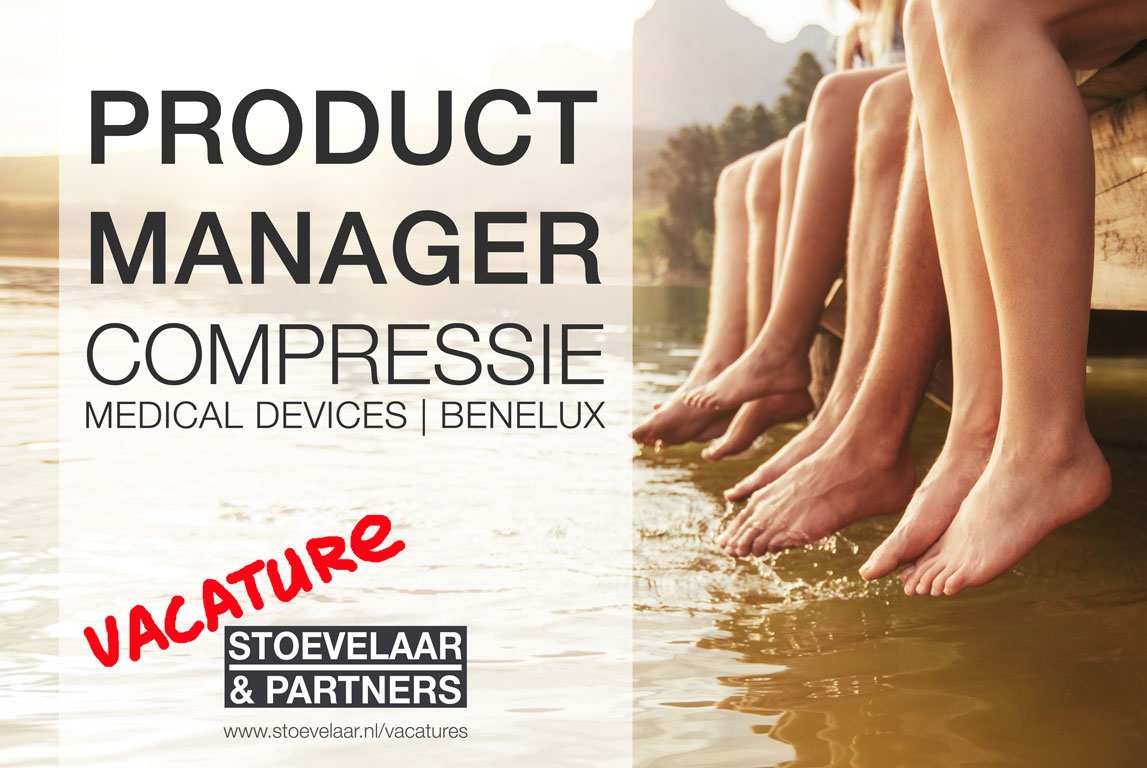 Product Manager Compressie medical devices Benelux